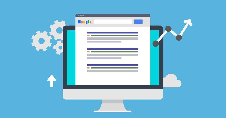 SEO Search Engine Optimization - Flat Style Design